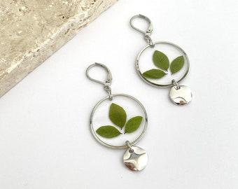 LOU - Silver earrings