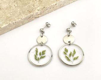 LIVIA - Silver earrings
