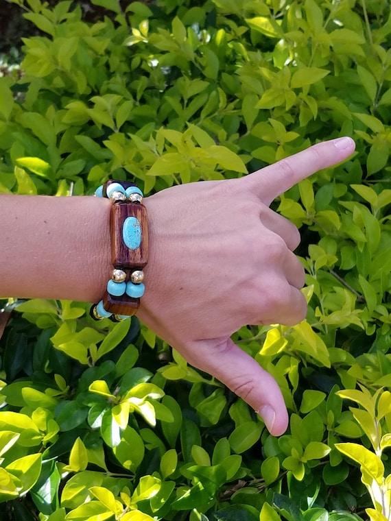 Naturally Harvested Hawaiian KOA Wood Bracelet (Women's)