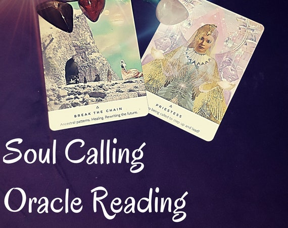 Same Day Soul Calling  Oracle Card Reading
