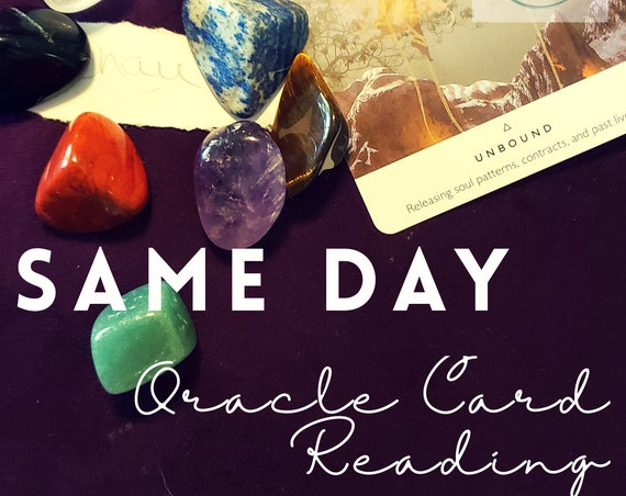 Same Day Instant Guidance Oracle Card Reading • What the universe is telling you