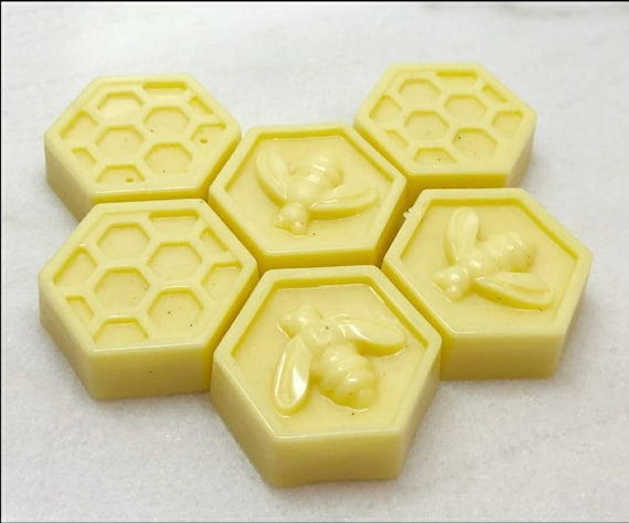 Mini Texas Honey Lotion Bar l Antibacterial l Texas Honey Beeswax & Unrefined Butter Solid Lotion Bars in tins l All Natural