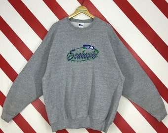 Seahawks Fan Gift WA Crewneck S-3X Seattle Football Stadium Men/'s Sweatshirt