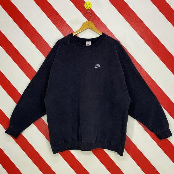 Vintage 90s Nike Sweatshirt Nike Crewneck Nike Swo