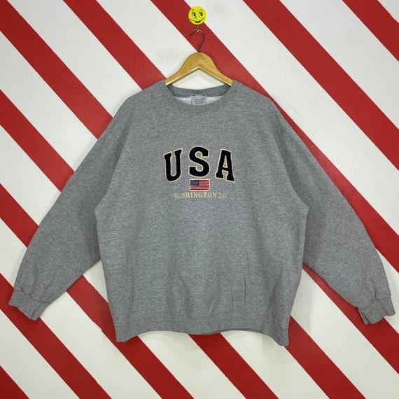 Vintage 90s Washington State Sweatshirt Washington