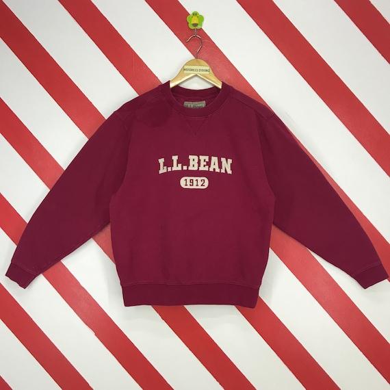 Vintage 90s LL Bean Sweatshirt LL Bean Crewneck LL