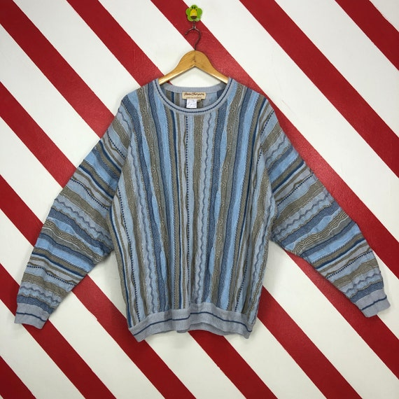 Vintage 90s Coogi Style Sweatshirt Crewneck Coogi