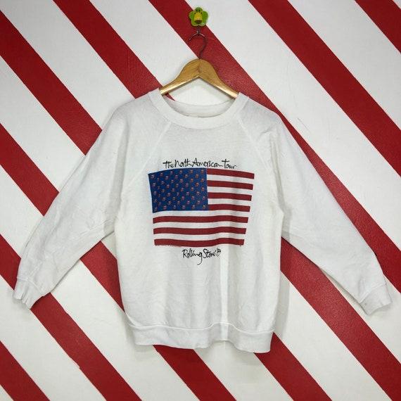 Vintage 80s The Rolling Stones Sweatshirt Crewneck