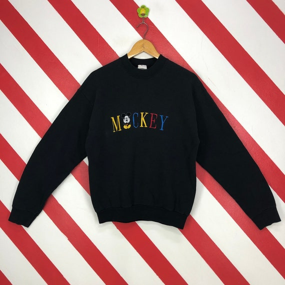 Vintage 90s Mickey Mouse Sweatshirt Crewneck Disne