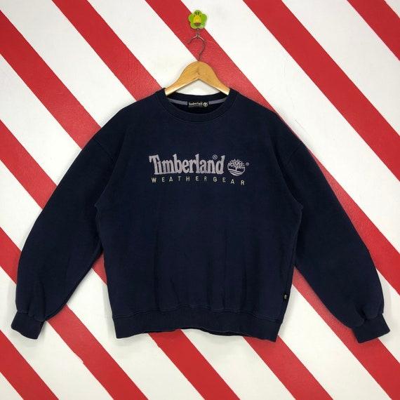 Vintage 90s Timberland Sweatshirt Timberland Crewn