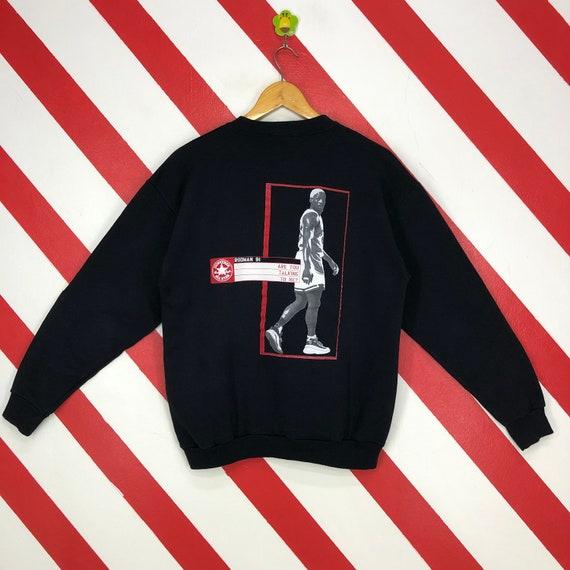 Vintage 90s Converse Dennis Rodman Sweatshirt Rodm