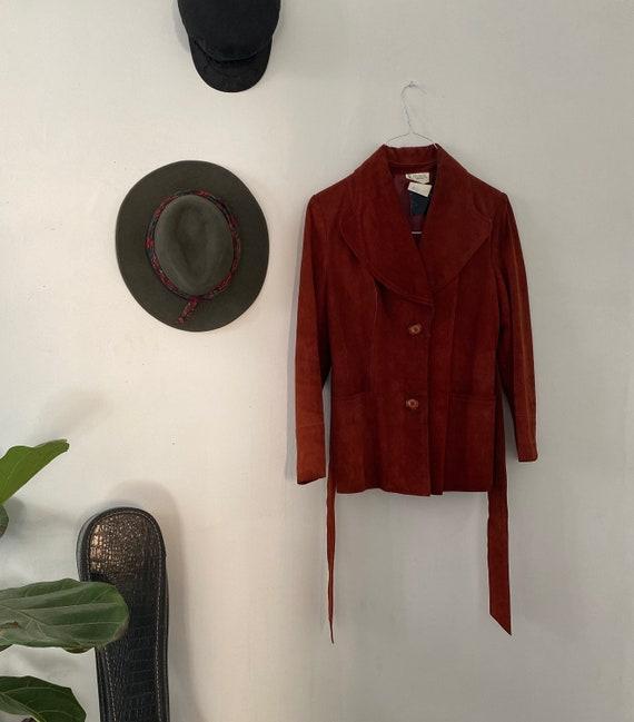 Suede Vintage Jacket