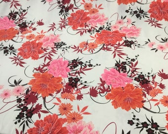 Atomic Musical Note Vintage Synthetic Fabric Yardage 9YDS Available