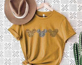 Disney Shirts, Disney Animal Adventure Shirt, Disney Animal Kingdom, Disney Family Shirts, Disney Plus Size, Safari Shirt, Disney  Ears