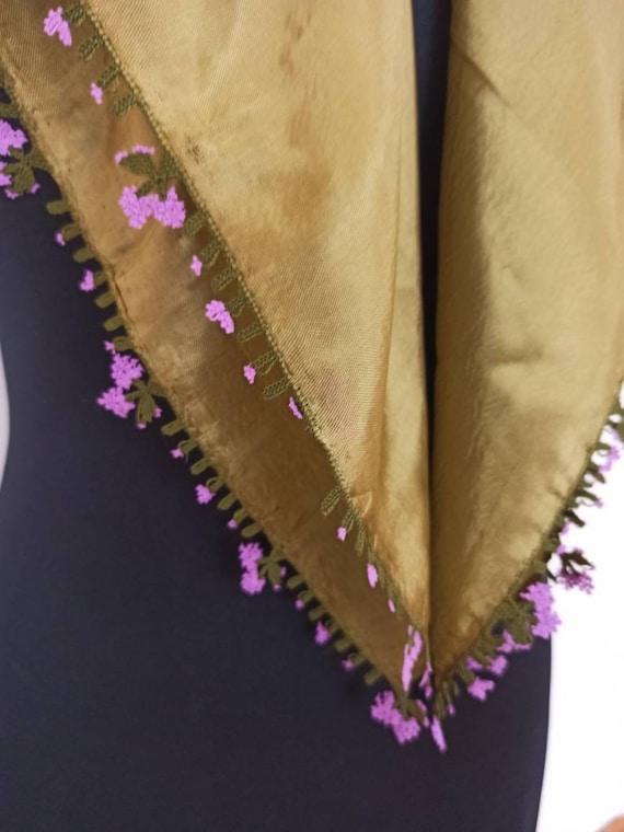 Scarf, Turkish scarf, handwork scarf, needlelace,