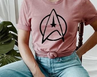 Star Trek Shirt, Spock, Gift For Star Trek Lovers, Pop Culture Shirt, Couple Shirt, Cotton Soft Shirt, Gift For Men And Women