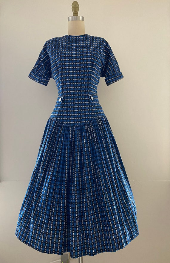 1950's Puppy dress by Toni Todd