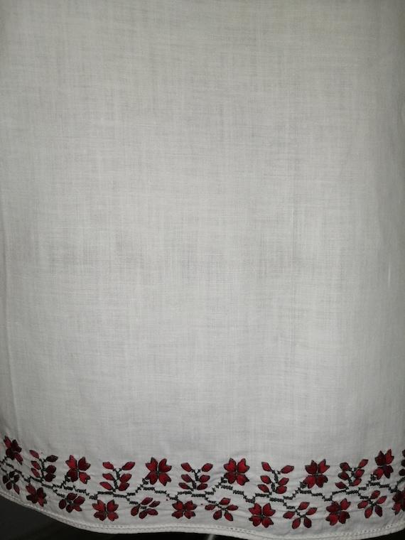 Vintage traditional Ukrainian embroidered dress V… - image 5