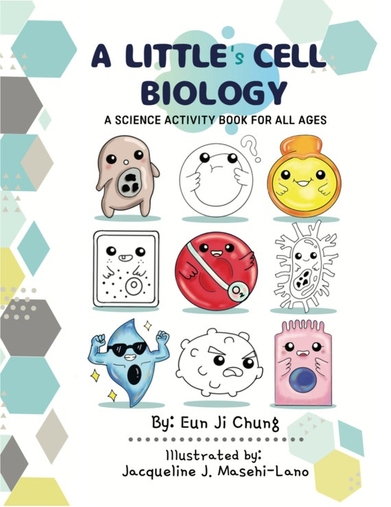 A Little Cell Biology Coloring/activity Book Etsy