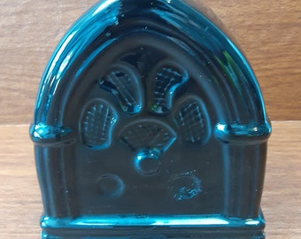 Vintage Enesco Black Gloss Jukebox figural Music Box Plays Cocktails for Two