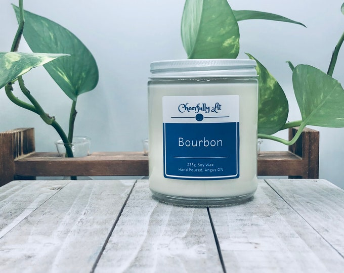 Featured listing image: Bourbon Soy Candle