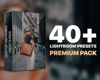 Lightroom Mobile Presets, Preset Bundle, Instagram Filter, Blogger Presets, Filter, iPhone Presets, Lightroom Presets, PREMIUM PACK