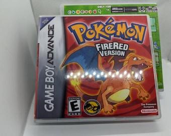 Pokemon Frigo Returns ROM Hack Fan Made Game Gameboy Advance GBA Custom Case