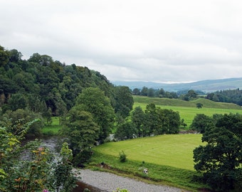 Ruskins View, Kirby Lonsdale - Loveliest View In England