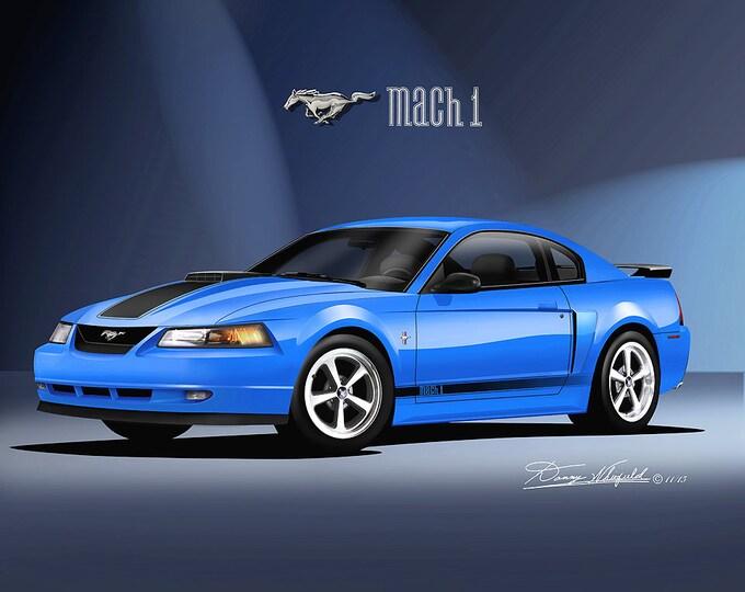 2003-2004 Mustang Mach 1 Art Prints