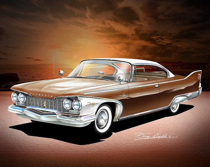 1960 Plymouth Fury comes in 8 different exterior colors