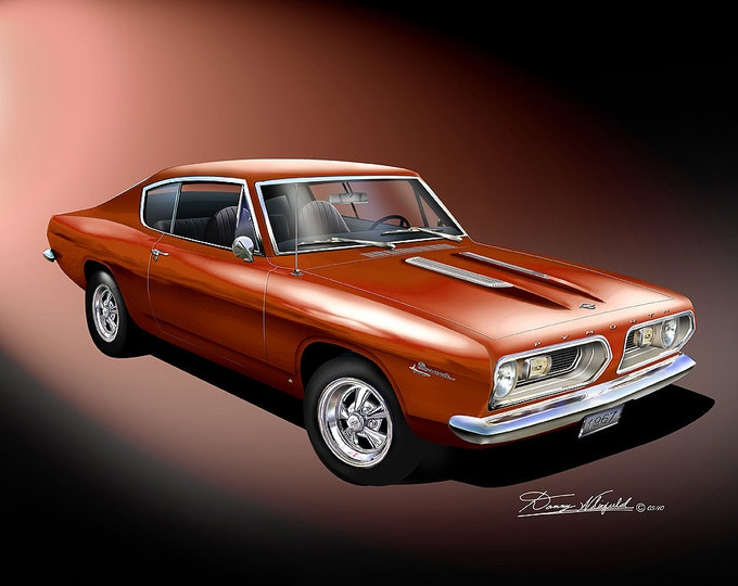 1967 Plymouth Barracuda comes in 10 different exterior colors
