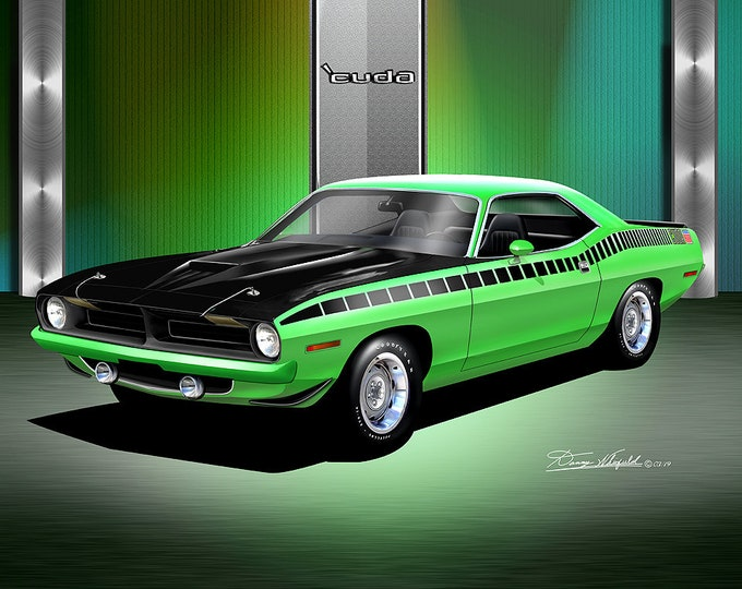 1970 Plymouth Barracuda comes in 9 different exterior colors
