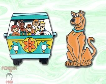 Scooby Doo Pin Etsy