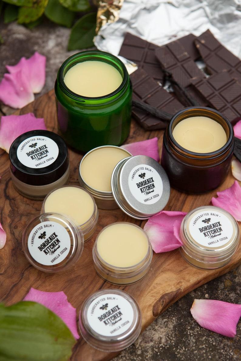 Vanilla Cocoa Balm: Soothing Tallow Beeswax Organic Balm for image 0