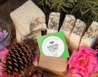 Alpine Forest Moisturizing Handcrafted Natural Lard Beauty Bar Soap Eco-Friendly & Natural