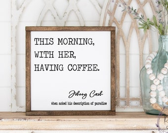 This Morning With Her Having Coffee Johnny Cash SVG, Coffee SVG, Kitchen SVG, Johnny Cash Png