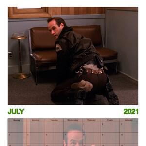 2021 Twin Peaks Calendar Hunks of Twin Peaks A4 Wall calendar 2020/2021 versions   Etsy