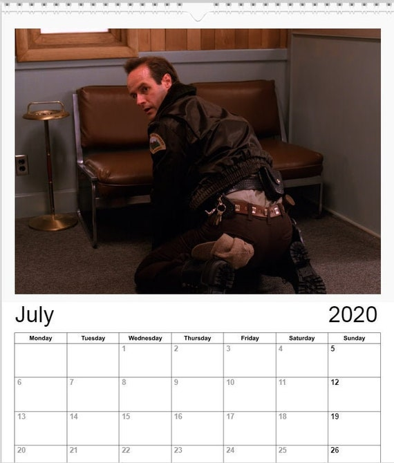 Twin Peaks Calendar 2021 Hunks of Twin Peaks A4 Wall calendar 2020/2021 versions | Etsy