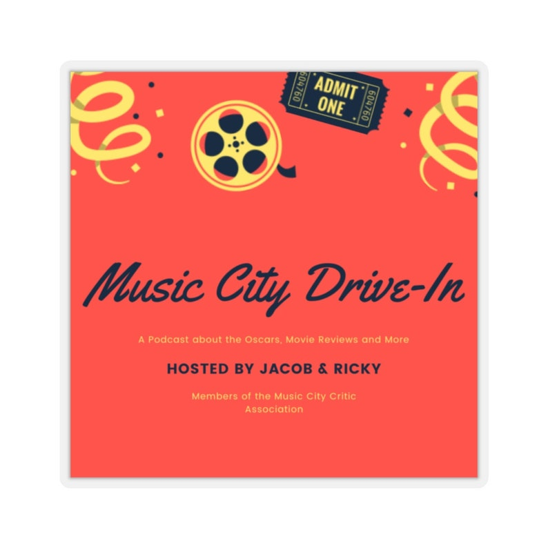Music City Drive-In Stickers image 0