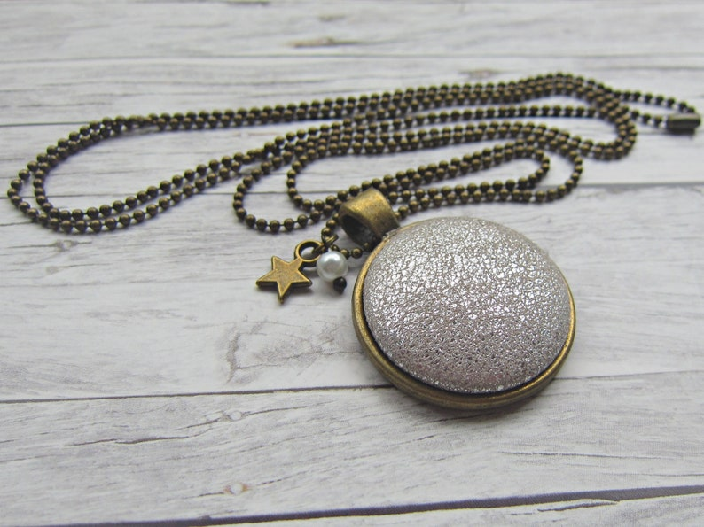 LEDER Chain SILVER Metallic image 0