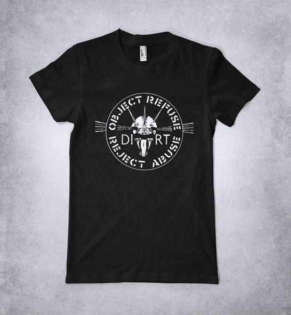 crass Hex Logo T Shirt flux Poison Girls punk High Quality Item : Anarchy