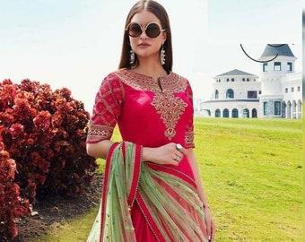 Indian Party Wear HandMade Long Kurti With Dupatta Designer Pakistani Girl/&Women Long kurti for women,indian dress,wedding kurti