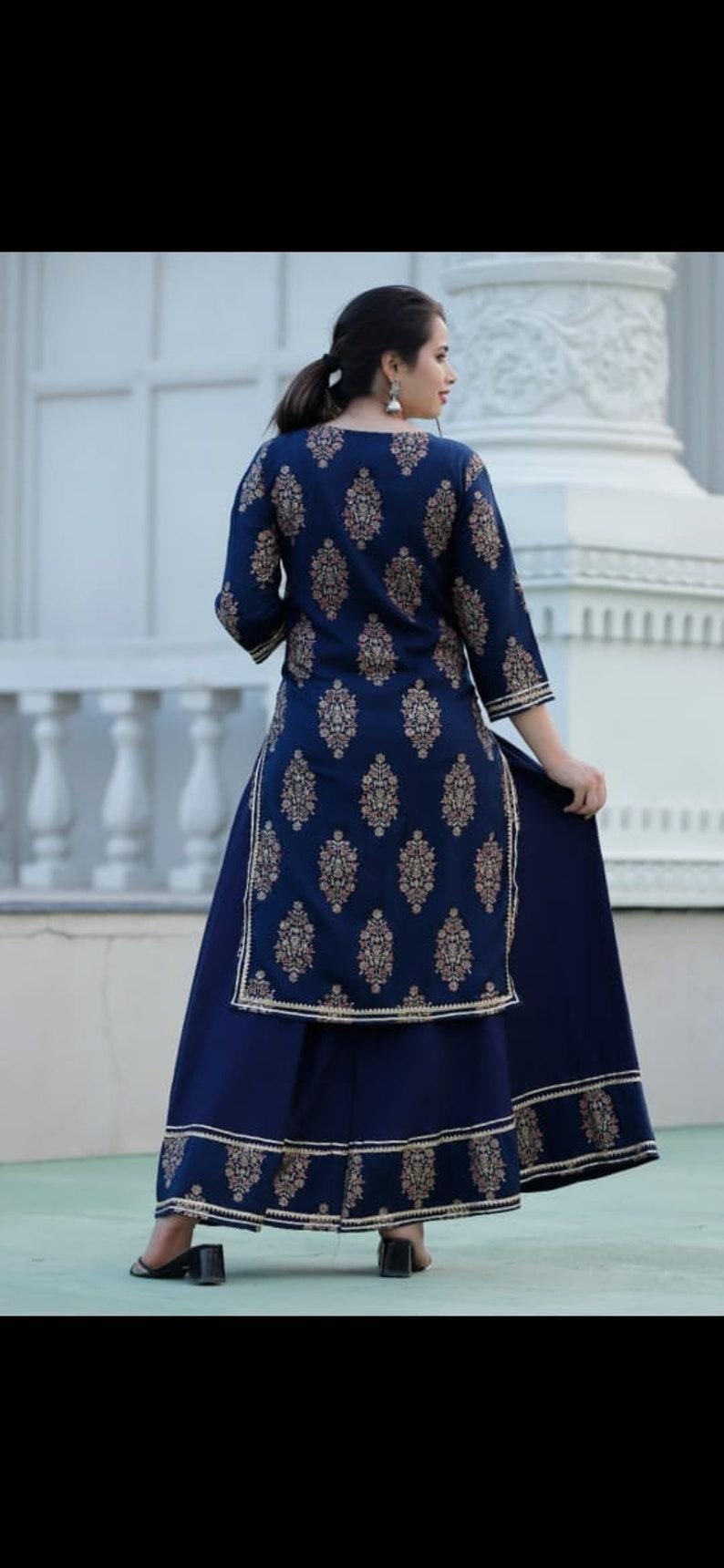 Indian kurti with skirt Indian kurti for women Indian kurta women Indian kurta Indian kurta set Indian kurti tops kurti for women kurti Girl