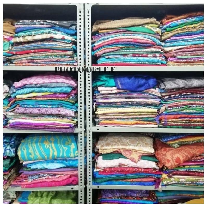 Sale ON Vintage Sari Recycled Sari Fabric Sari Silk Indian Sari Women Sari Vintage Sari Fabric Used Sari Used Saree Sari silk fabric Fabric
