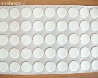 1000 Double Sided Sticky White 3D Foam Dots Pads Spots Circles Card Craft 18mm Diameter x 1mm Thick