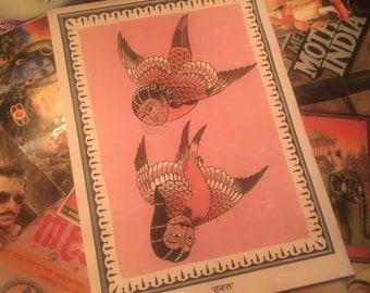 Love Birds #StandWithFarmers Print.