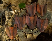 Brown Leather scales to make an leather armor for larp armor