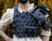 Larp armor. Leather armor inspired by the witcher 3. Witcher cosplay. Medieval, fantasy armour