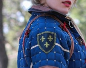 Larp SHIELD PERSONALIZED . Leather shields for a viking, reenactment, steampunk or cosplay.