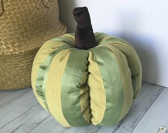 Large Pumpkin Doorstopper, Harvest Home Decor Pumpkin